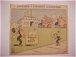 Click here to enlarge image and see more about item 1930-00463: Political Cartoon - April 18, 1967 - Fort Knox