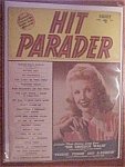 Click here to enlarge image and see more about item 1930-00478: August 1948, Hit Parader - Marie McDonald Cover