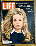 Life Magazine - August 18, 1967 - Veruschka Cover