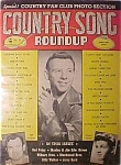 Click here to enlarge image and see more about item 1930-00501: Country Song Roundup -November 1954 - Hank Snow