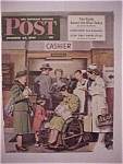 Click here to enlarge image and see more about item 1930-0055: Saturday Evening Post Cover -Dohanos- October 22, 1949