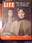 Click to view larger image of Life Magazine - February 4, 1957 - Hepburn & Ferrer (Image1)