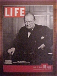 Life Magazine May 21, 1945 Winston Churchill (Part 1)