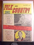 Click here to enlarge image and see more about item 1930-00793: Folk and Country Songs Magazine-January 1958-April Love