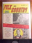 Click here to enlarge image and see more about item 1930-00794: Folk & Country Song Magazine-January 1958-Ferlin Huskey