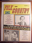 Click here to enlarge image and see more about item 1930-00795: Folk and Country Songs Magazine - December 1959
