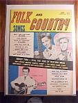 Click here to enlarge image and see more about item 1930-00796: Folk and Country Songs - June 1959 - Goldie Hill