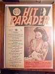 Click here to enlarge image and see more about item 1930-00799: Hit Parader Magazine - February 1946
