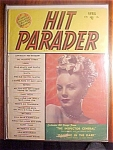 Click here to enlarge image and see more about item 1930-00800: Hit Parader Magazine - April 1950 - Janet Blair cover