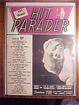 Click here to enlarge image and see more about item 1930-00810: Hit Parader Magazine -March 1944- Dolores Moran cover