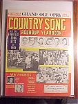 Click here to enlarge image and see more about item 1930-00819: Country Song Roundup Yearbook - 1965
