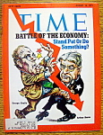 Click to view larger image of Time Magazine-August 16, 1971-Battle Of Economy (Image1)