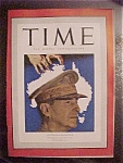 Click to view larger image of Time Magazine - March 30, 1942 - Australia's MacArthur (Image1)