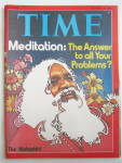 Time Magazine October 13, 1975 Meditation The Maharishi