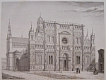 Click here to enlarge image and see more about item 198: Eglise De La Chartreuse, Pres De Pavie