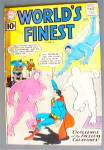 Click here to enlarge image and see more about item 19936: World's Finest Comic #120 September 1961 Superman