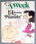 Click to view larger image of Tv Week December 24-30, 1995 Working For Peanuts (Image1)