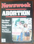 Newsweek Magazine-January 14, 1985-Abortion