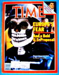 Click to view larger image of Time Magazine-November 30, 1981-Europe's Fear (Image1)