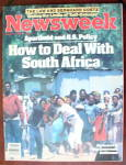 Newsweek Magazine-March 11, 1985-South Africa