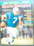 Sports Illustrated September 13, 1976 Bert Jones