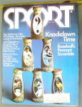Sports Magazine October 1973 Knockdown Time