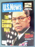 Click here to enlarge image and see more about item 20019: U.S. News Magazine February 4, 1991 Colin Powell