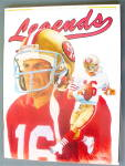 Legends Sports Memorabilia 1990 49Ers