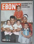 Ebony Magazine January 1975 Muhammad Ali