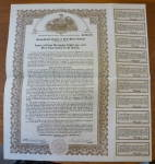 Consolidated Copper & Gold Mines LTD. Stock Certificate