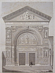 Click here to enlarge image and see more about item 201: Eglise De St Francois - Des - Nobles, A Perouse