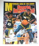 Sports Illustrated Magazine-April 10, 1989-Michigan