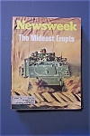 Newsweek Magazine - October 15, 1973 - Mideast Erupts