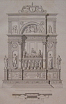 Click here to enlarge image and see more about item 203: Tombeau Du Doge Vendramini A Venise