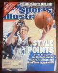 Click to view larger image of Sports Illustrated Magazine-May 6, 2002-Dirk Nowitzki (Image1)