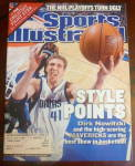 Click to view larger image of Sports Illustrated Magazine-May 6, 2002-Dirk Nowitzki (Image2)