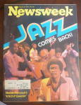 Click to view larger image of Newsweek Magazine-August 8, 1977-Jazz Comes Back (Image1)