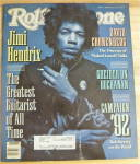 Click here to enlarge image and see more about item 20444: Rolling Stone-February 6, 1992-Jimi Hendrix
