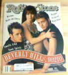 Click here to enlarge image and see more about item 20445: Rolling Stone-February 20, 1992-Beverly Hills 90210