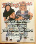 Click here to enlarge image and see more about item 20447: Rolling Stone-March 19, 1992-Wayne's World