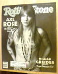 Click here to enlarge image and see more about item 20448: Rolling Stone-April 2, 1992-Axl Rose