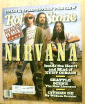 Click here to enlarge image and see more about item 20449: Rolling Stone-April 16, 1992-Nirvana