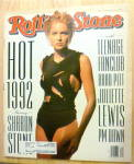 Click here to enlarge image and see more about item 20450: Rolling Stone-May 14, 1992-Sharon Stone