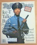 Click here to enlarge image and see more about item 20465: Rolling Stone-August 20, 1992-Ice-T Talks Back