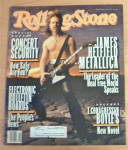 Click to view larger image of Rolling Stone-April 15, 1993-Metallica (James Hetfield) (Image1)