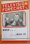 Click to view larger image of 1948 Chicago Television Forecast Issue #2 Kukla & Ollie (Image1)