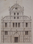 Click here to enlarge image and see more about item 204: Eglise De Saint Zacharie A Venise