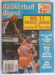 Click here to enlarge image and see more about item 20628: Basketball Digest June/July 1991 Michael Jordan