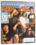 Click to view larger image of Rolling Stone Magazine October 28, 1993 Pearl Jam (Image2)