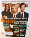 Rolling Stone Magazine January 27, 1994 Nirvana